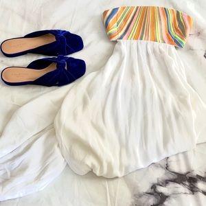 🆕Mara Hoffman Cutout Embroidered Maxi Cover Dress